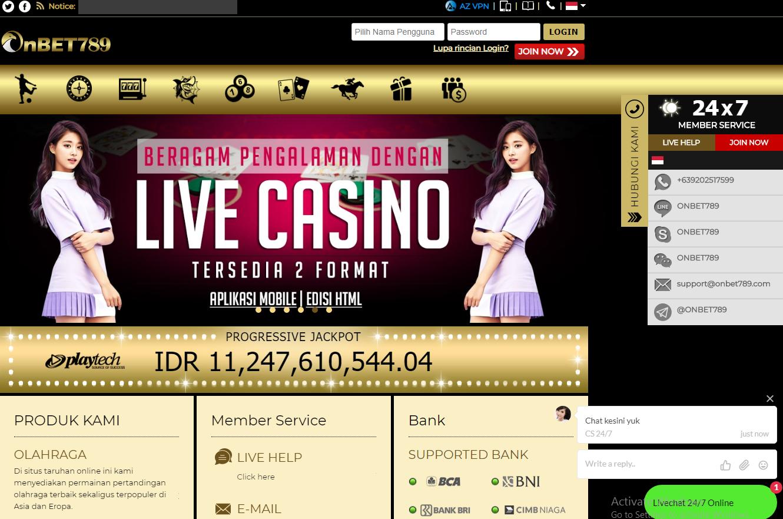 Photo of Beberapa Jenis Permainan Live Kasino Online