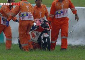 Pembalap Indonesia Afridza Munandar Meninggal Setelah Crash di Sepang