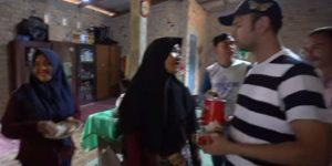 Raffi dan Nagita Terkejut Saat Melihat Rumah Panggung Lala di Kampung