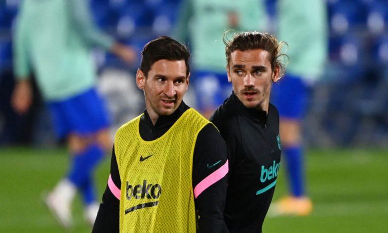 Antoine Griezmann Bantah Berita Tak Harmonis dengan Lionel Messi 1