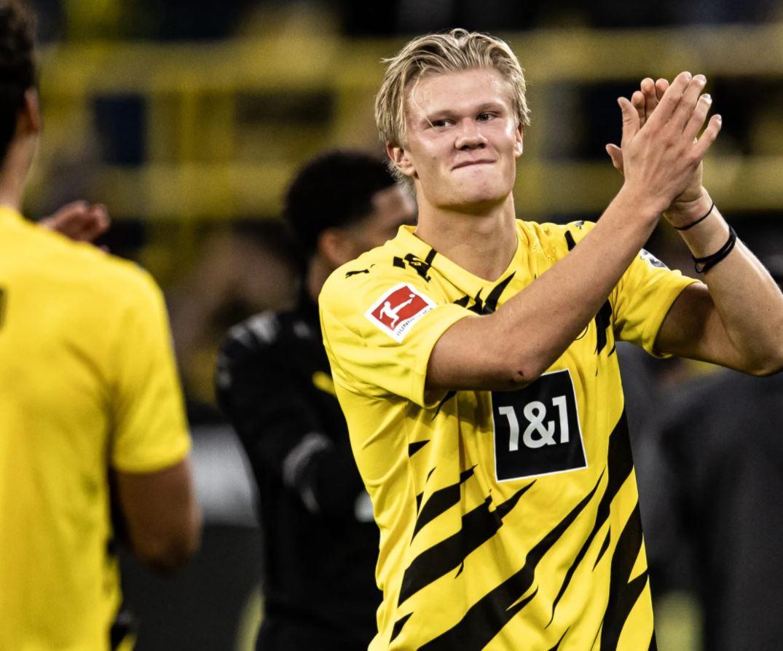 Striker Borussia Dortmund, Erling Haaland