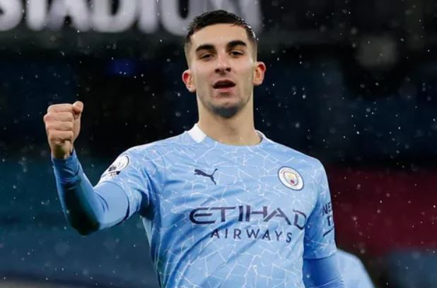 Striker Manchester City, Ferran Torres